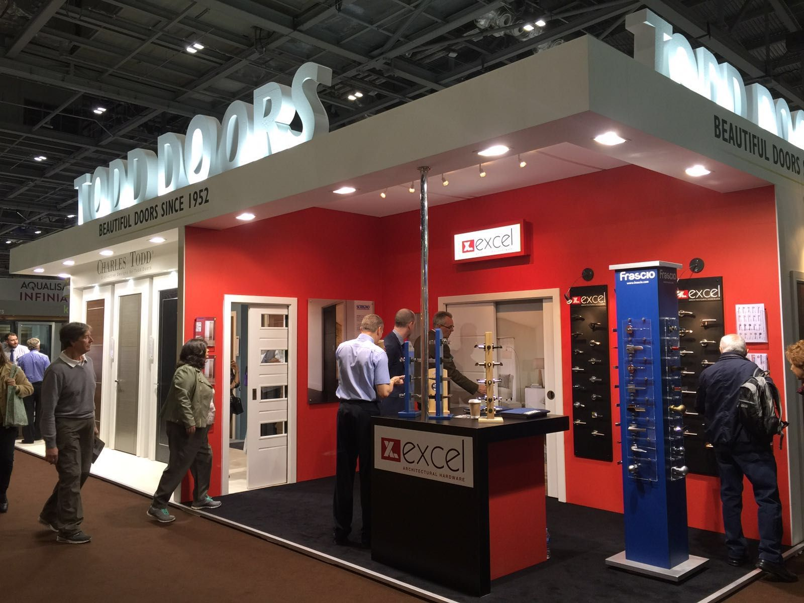 Todd Doors at the Grand Designs Live show in london, Stand B120 ...