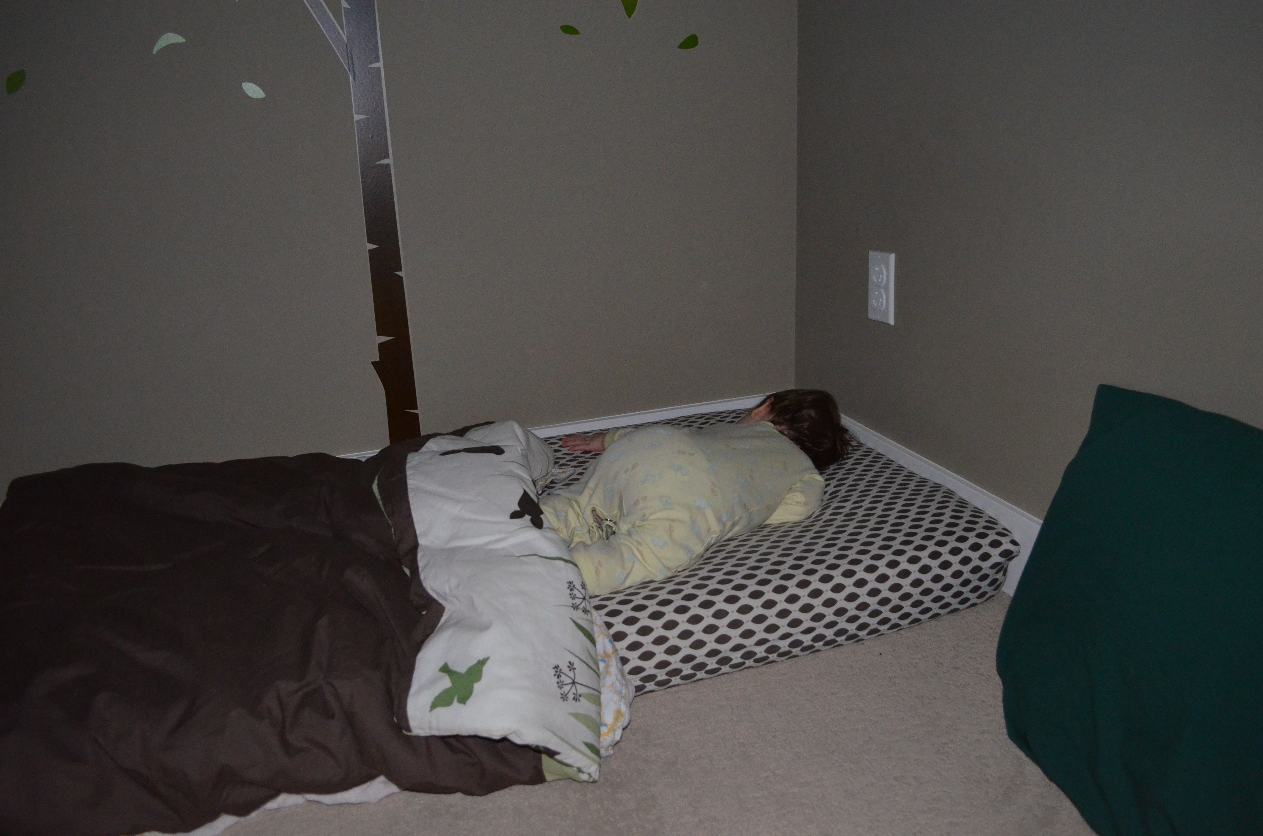 Oh You Haven T Got Your Crib Yet Bed For 1 Year Old Baby Floor Bed Cribs