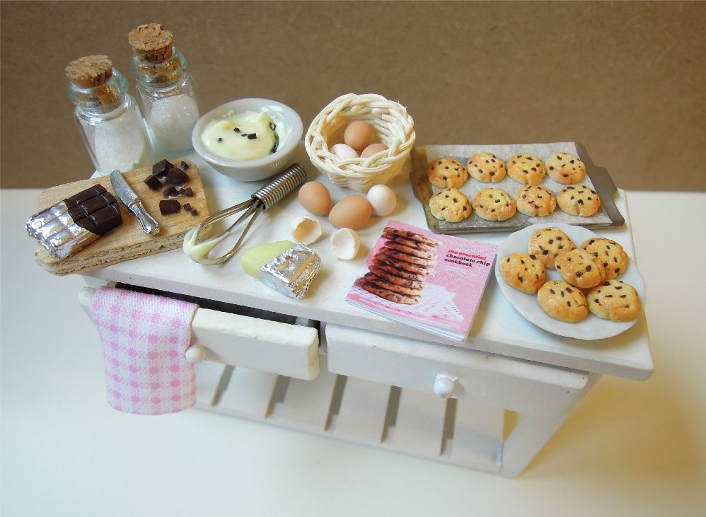 Cookieland: CHOCOLATE CHIP COOKIES ♥ preparation board