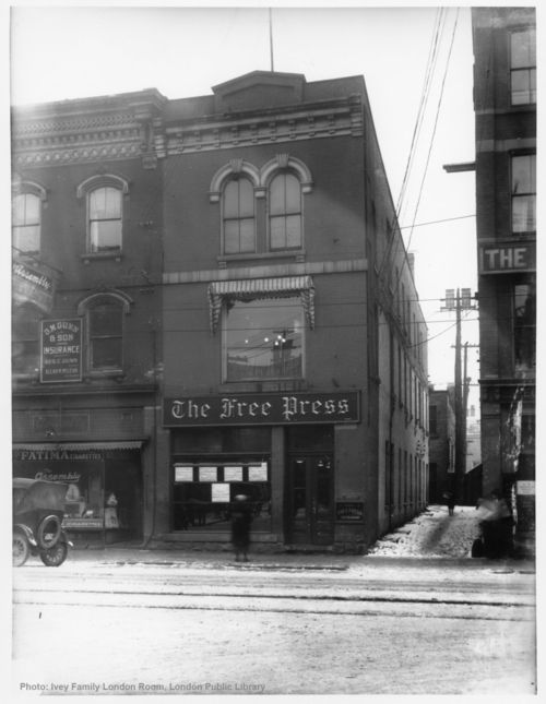 The Old London Free Press, London, Ontario.