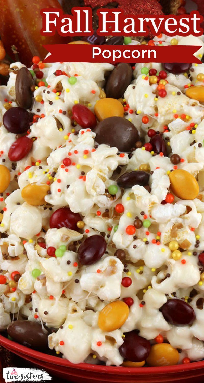 Fall Harvest Popcorn Recipe in 2020 Delicious