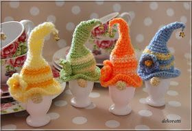 Photo of decoretti's world: spring gnome as egg warmer … – crochet – #als #dek …#als …