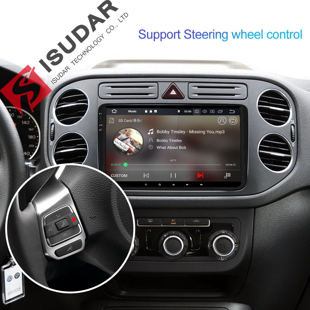 Isudar 8 Core Ram 4gb 1 Din Car Navigation Car Multimedia Player