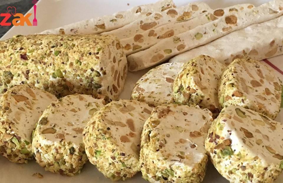 النوجا والمن والسلوى أفخم ضيافة للعيد حلويات حلويات عالمية حلويات عربية Middle Eastern Desserts Arabic Dessert Delicious Desserts