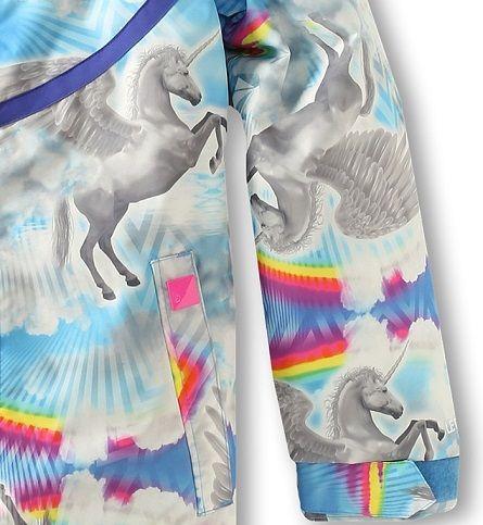 Volcom Kids Pegasus Ins Jacket print