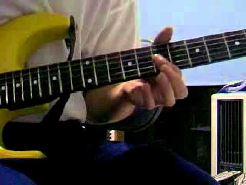flirting with disaster guitar lesson solo music songs 2016