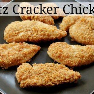 Easy Chicken Recipes Ritz Cracker Chicken One Hundred Dollars A Month Recipe Food Recipes Ritz Cracker Chicken