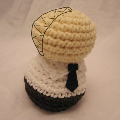 Creepy Cute Coiffure: Making and attaching hair   NeedleNoodles: Crochet Patterns, Knit Patterns, Amigurumi Awesomeness
