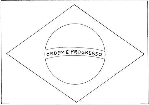 Desenhos Da Bandeira Do Brasil Para Colorir 19 De Novembro Dia
