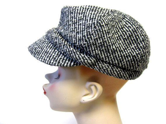 Sun hat handmade lider with roses grey brim