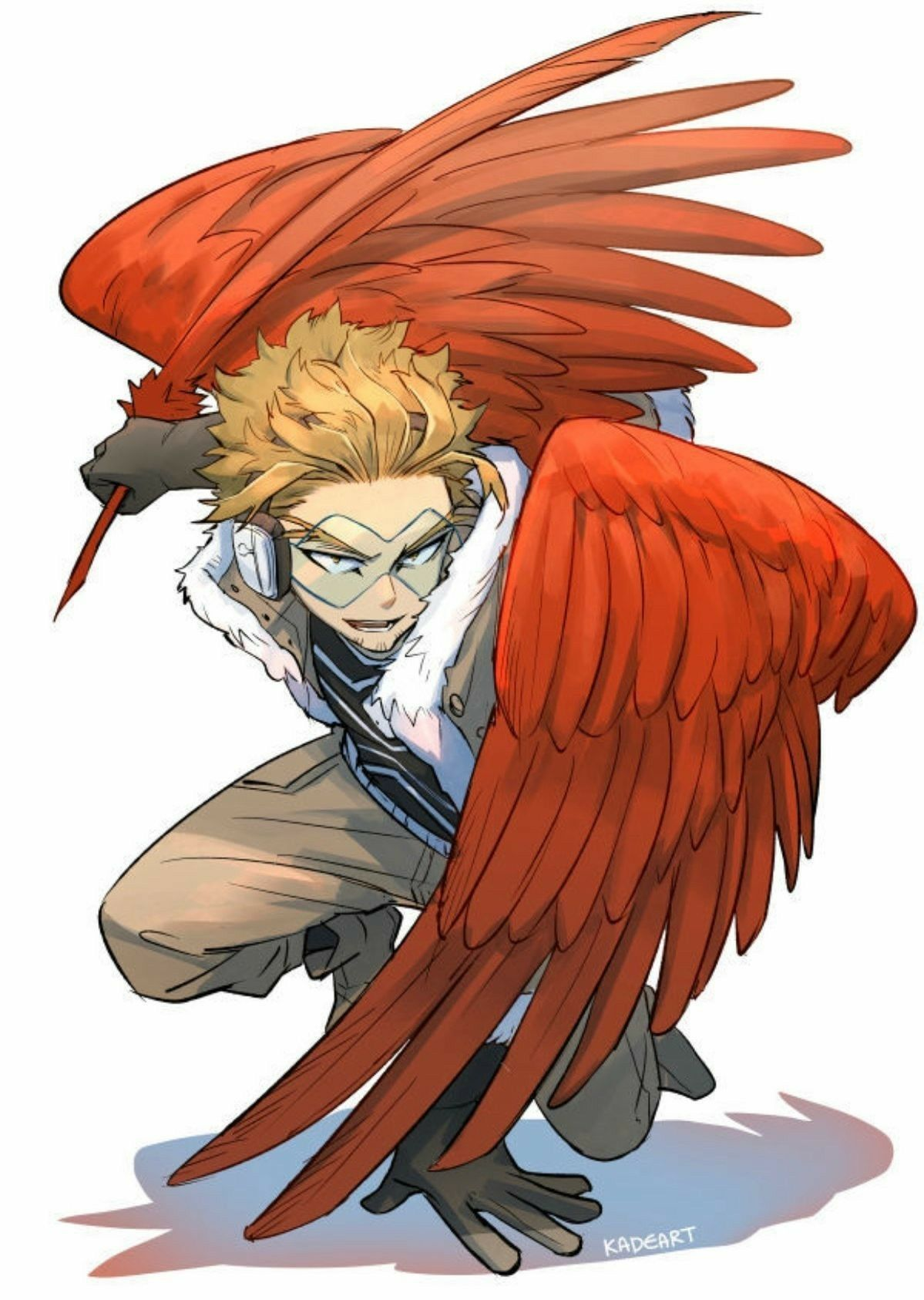 Bnh Bnha Bokunohero Manga Fanart Hawks Personagens De Anime Papel De Parede De Heróis Boku No Hero Academy