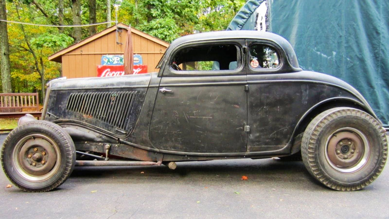 Mix Of Old And New 1934 Ford 5 Window Rat Rods Truck Old Hot Rods Rat Rod