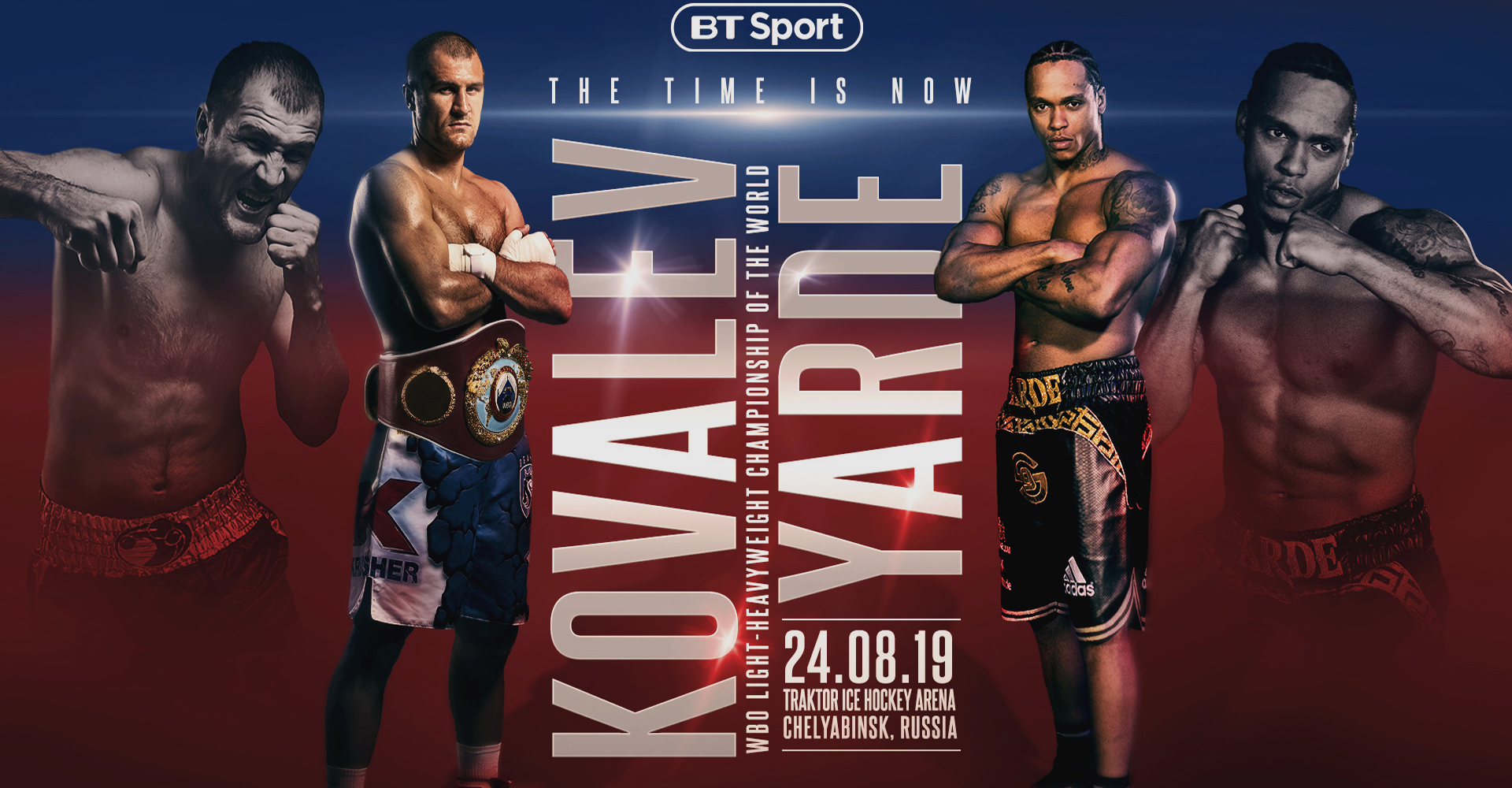 How To Watch Kovalev vs Yarde Live Boxing Saturday 24