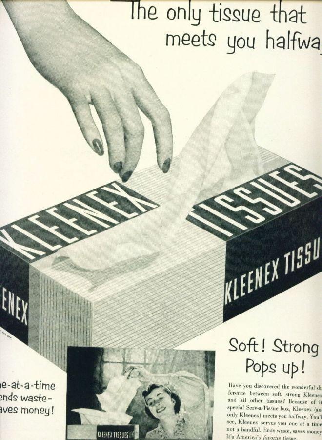 Image result for kleenex retro