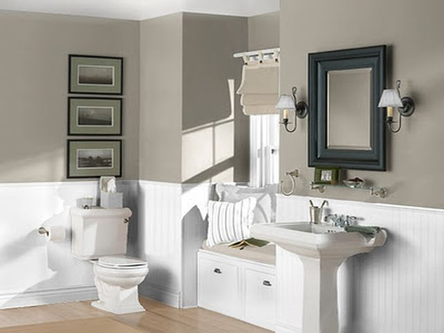 Popular Bathroom Paint Colors In