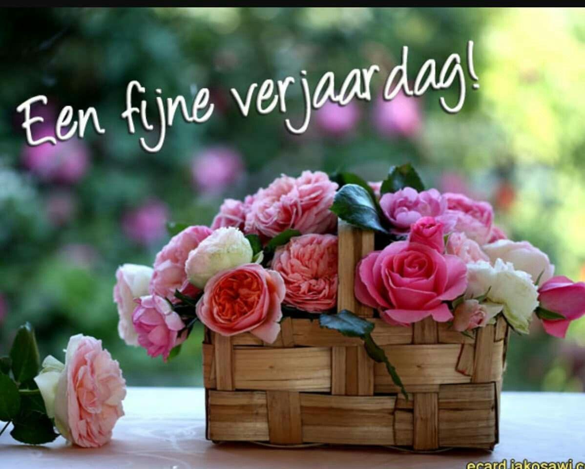 Pin By Jetty Derock On Verjaardag Pinterest Flowers Basket And