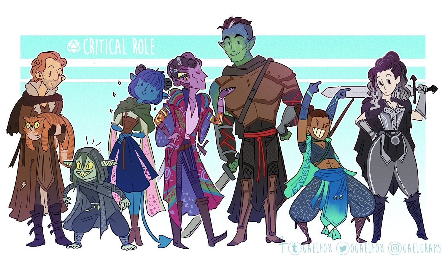 Critical Role Fan Art Gallery Strange Bedfellows Geek And Sundry Critical Role Characters Critical Role Critical Role Fan Art Part 3 of my fanart series! critical role fan art gallery strange