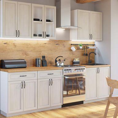 Zestaw Mebli Kuchennych Aniela Gala Meble Meble Kuchenne W Zestawach W Atrakcyjnej Cenie W Sklepach Leroy Merlin Boho Kitchen Kitchen Home