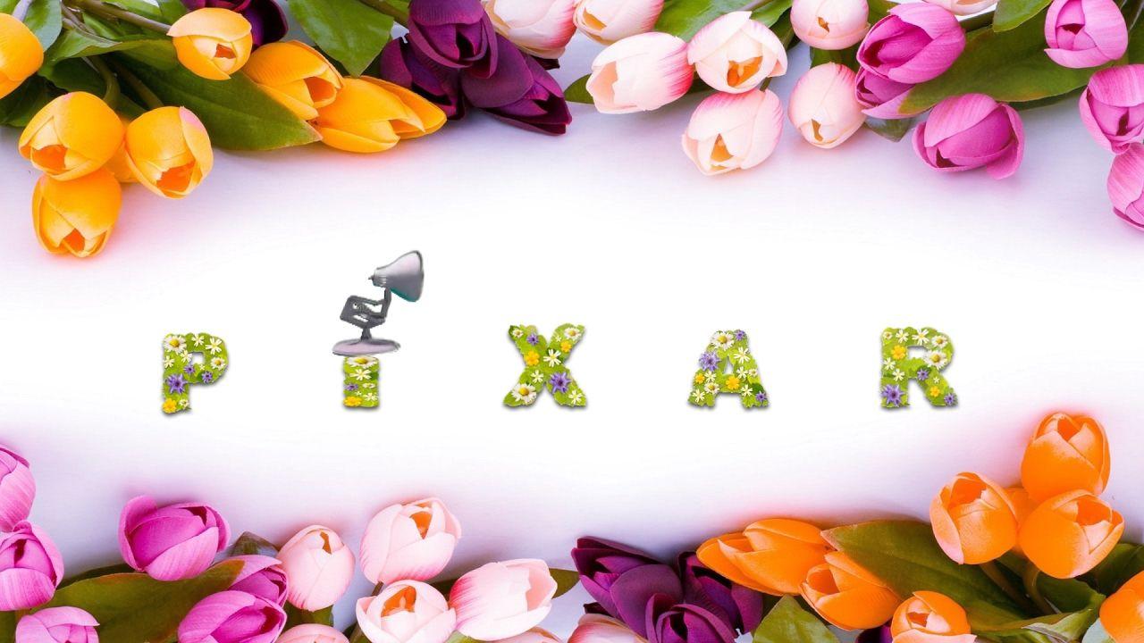 509 Flowers Pixar Font Spoof Pixar Lamp Luxo Jr Logo With Time