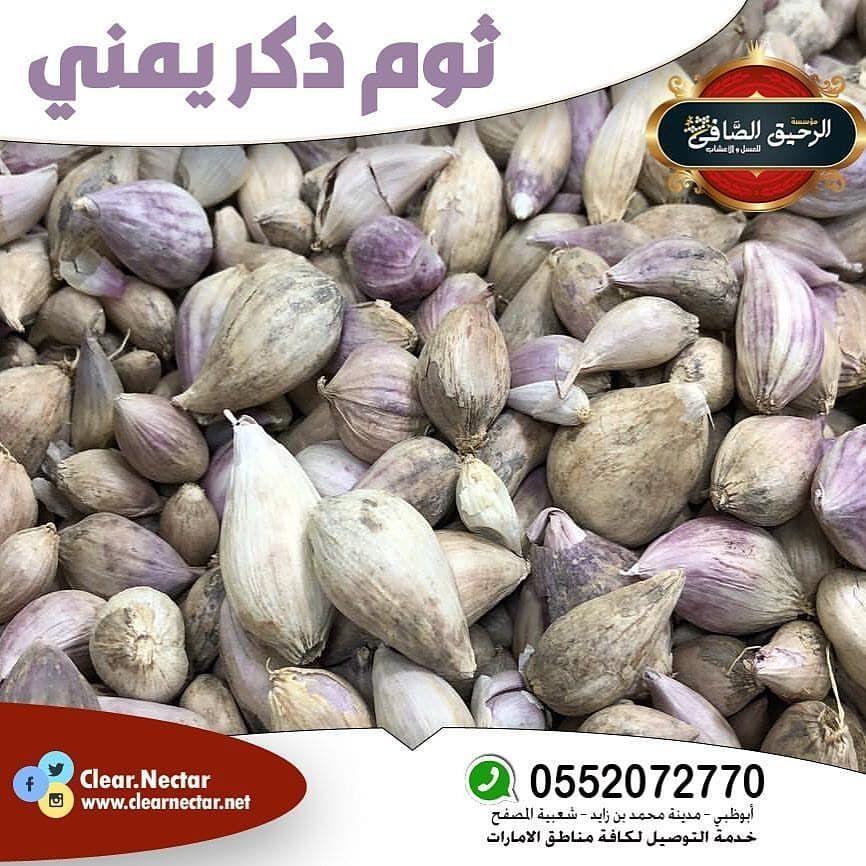 اعلان ثوم ذكر يمني Clear Nectar الثوم الذكري هو من أقدم النباتات العشبي ة المستخدمة ويعد من أفضل أنواع الثوم لتميزه بفوائد كثيرة تفوق فوائد الث Food Peanut