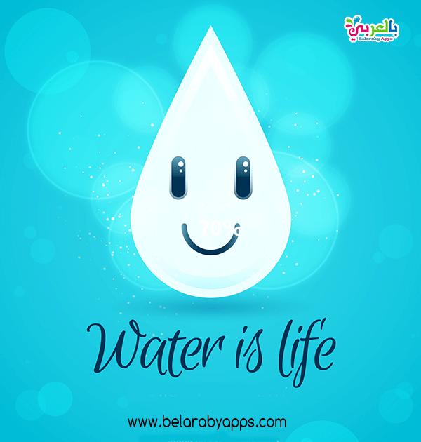 افكار عن ترشيد الماء للاطفال استخدامات الماء في الحياة بالعربي نتعلم In 2021 Outdoor Decor Water Life