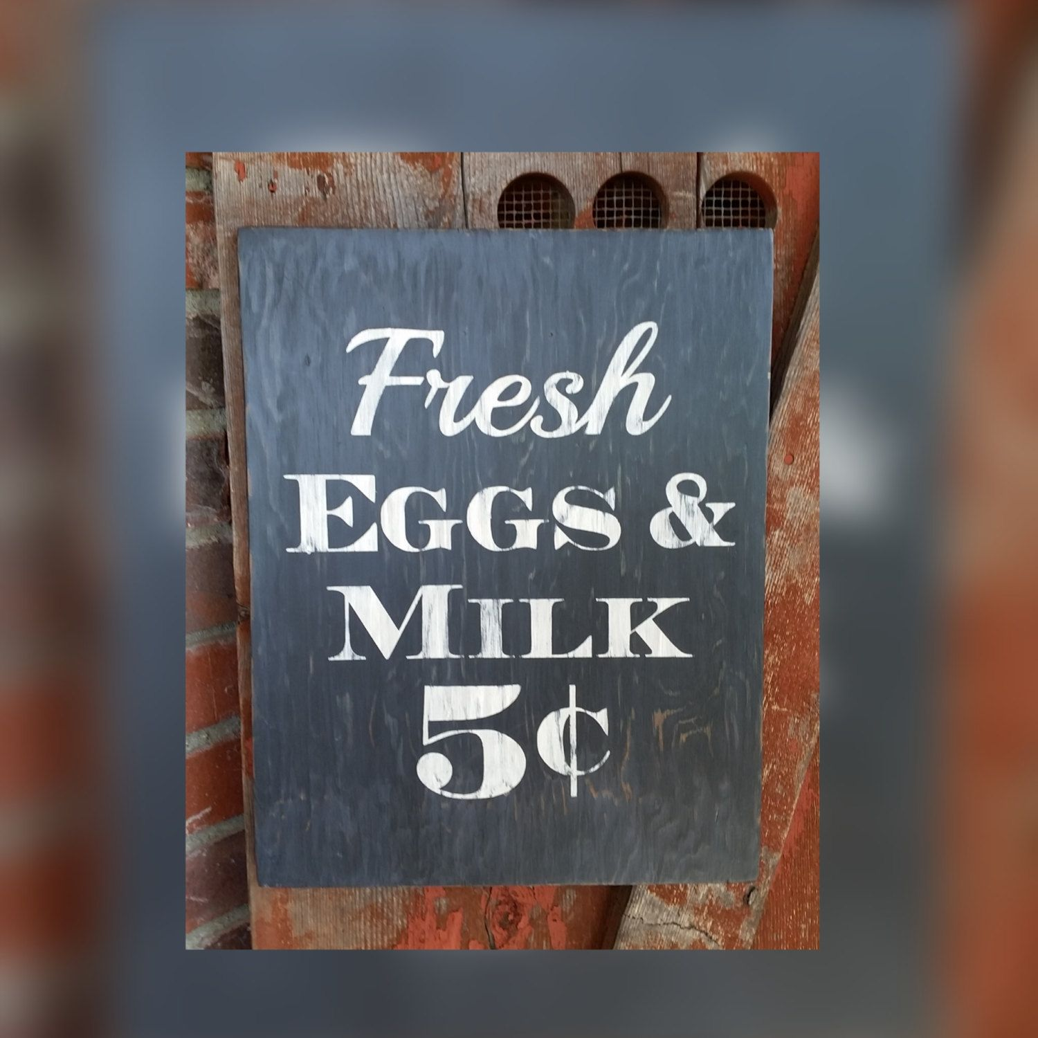 Country Decor Signs Impressive Handmade Black And White Rustic Fresh Eggs And Milk Wood Sign Decorating Design