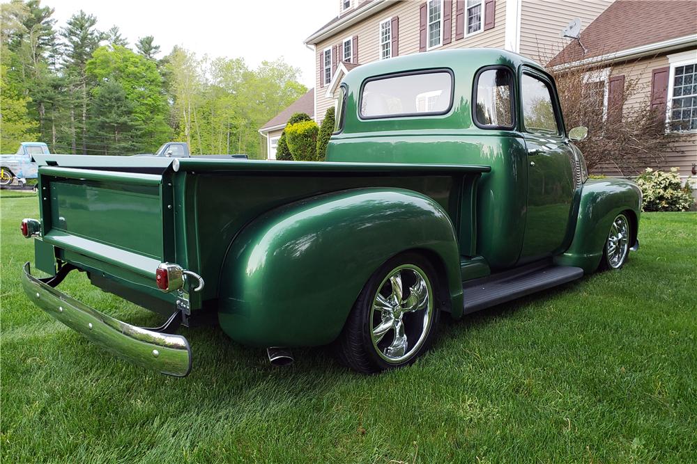 1953 Chevrolet 3100 Deluxe 5 Window Custom Pickup220062 Chevy Trucks Chevy Suv Trucks