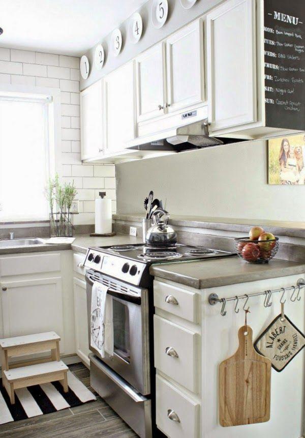 Белая кухня: 6 преимуществ + 40 вдохновляющих фото | Кухня ...