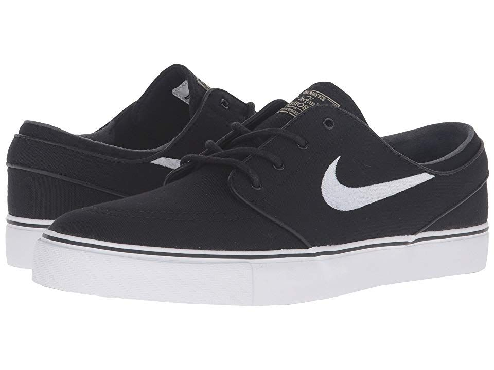 pretty nice ece18 b7431 Nike SB Zoom Stefan Janoski Canvas (Black Gum Light Brown Metallic Gold  Star White) Men s Skate Shoes. For those that stay ahead of the times we  present the ...