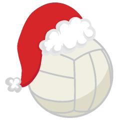 Volleyball Santa Volleyball Christmas Volleyball Designs Volleyball Wallpaper