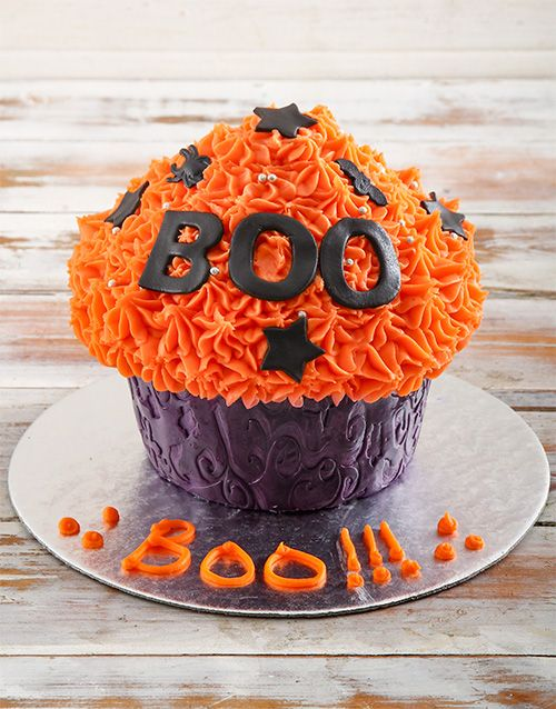 Buy Halloween Giant Cupcake Online Netgifts With Images Big