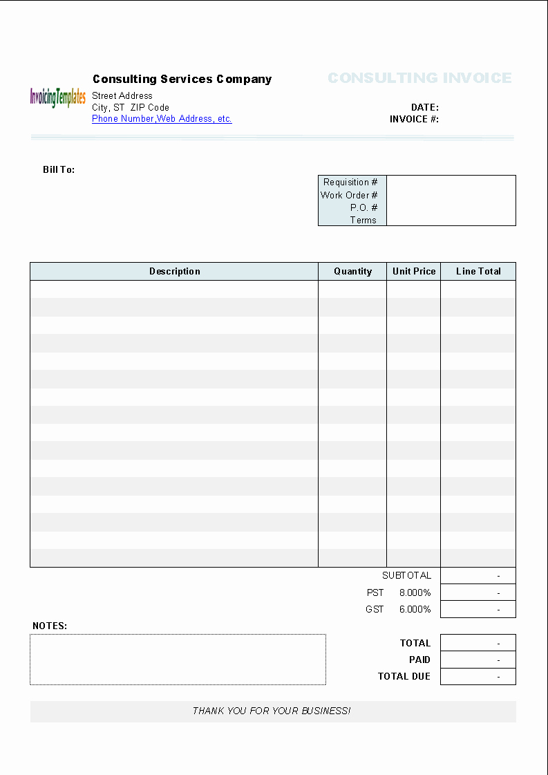 Auto Repair Invoice Template Pdf Awesome Garage Receipt Template Printable Receipt Template Invoice Template Invoice Template Word Invoice Layout