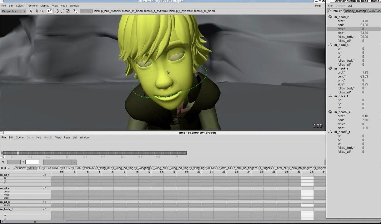 EMO - PDI - 3d animation | Proprietary VFX Software | 3d animation