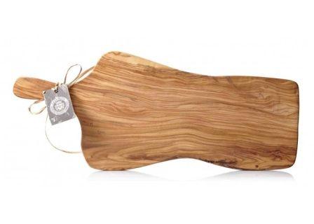 LA CHINATA Olive Wood Cutting Board Handle in 2019