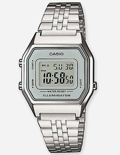 Casio - Armbanduhr LA680WEA-7EF silver