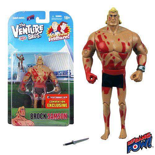 Venture Bros. Naked Brock 3 3/4-Inch Figure - Con Exclusive