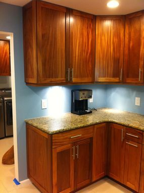Best Custom Made African Mahogany Kitchen Mahogany Kitchen 400 x 300