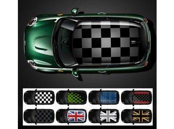Mini Cooper Roof Decal Graphics Oem Gen3 F56 F55 F57 F54 F60 Mini Cooper Mini Coper Mini Cooper Custom