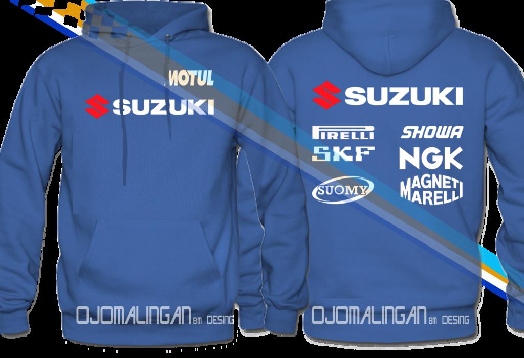 Limited edition suzuki racing motul team hoodie moto gp race