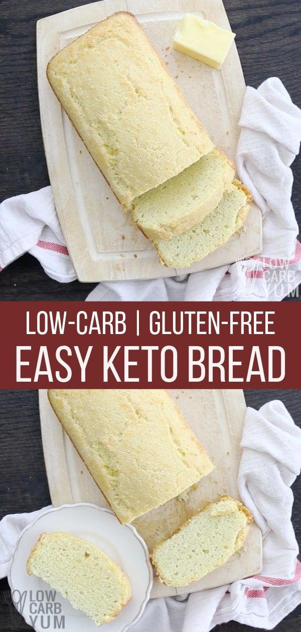 Lowest Carb Bread Recipe By Patricia Batista On Low Carb Recipes