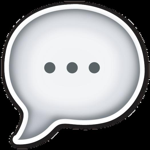 Speech Balloon Emojis De Whatsapp Nuevos Emoticonos Emojis