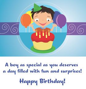 boy birthday cards printable