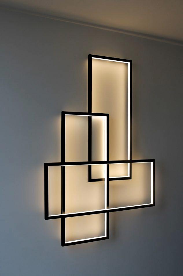 Idee luci led per arredare le pareti della tua casa #Illuminazioneperinterni #fillyourhomewithlove  #luciled #homedecor #interiordesign #arredamento #blogdiarredamento #interiordesignblog