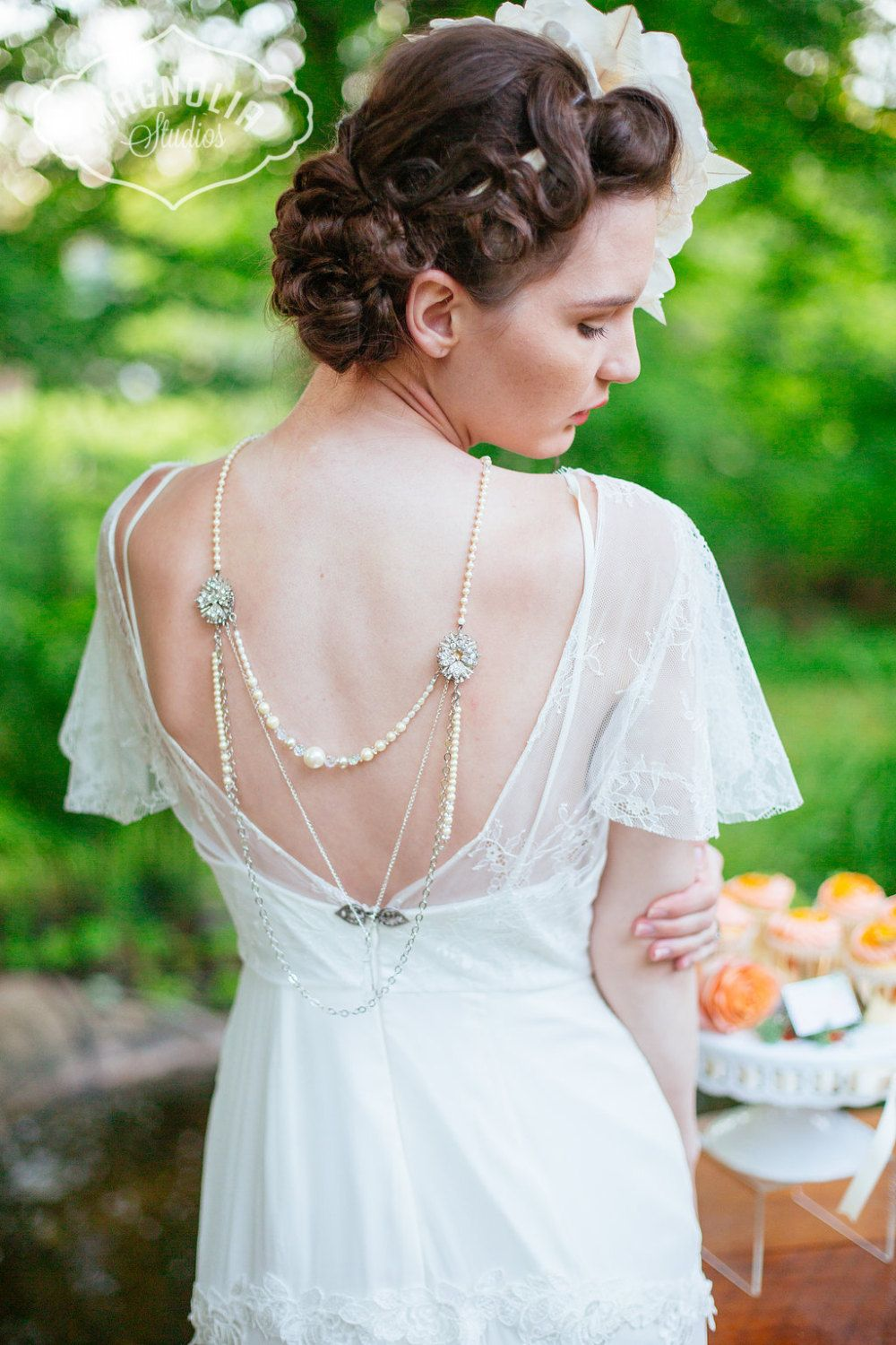Jewelry For Backless Wedding Dress