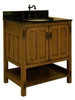 "30"" American Craftsman Single Bath Vanity"