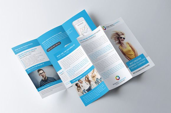 Software House Trifold Brochure By Party Flyers On - Brochure template online