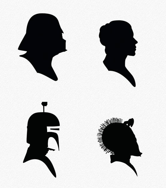 Princess Leia Silhouette Google Search Vinyl Things