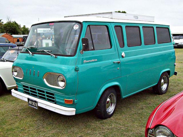 145 Ford Econoline Van 1st Generation 1964 Vans Cool Vans