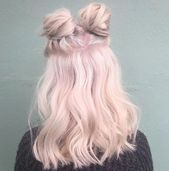cotton candy hair   hair pink e beauty