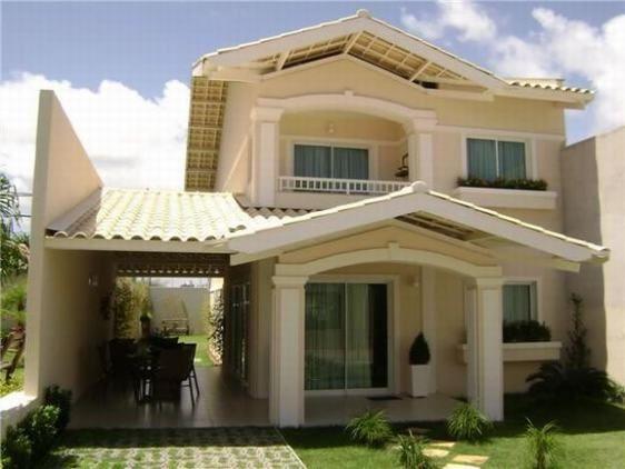 Fachadas de casas bonitas con balcon fachadas de balcones for Fachada de casas modernas con balcon